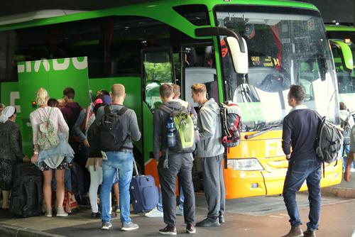 Fahrgastmagnet: Der Freiburger Busbahnhof wird stärker von Flixbus-Kunden frequentiert als die Metropolen-Stationen in Rom oder Amsterdam.