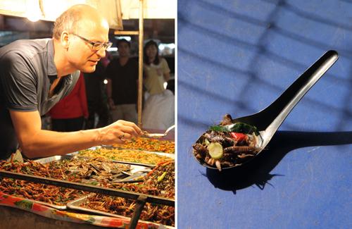 Sind Insekten die Lösung? Filmemacher Valentin Thurn (links) geht der Frage nach, wie zehn Milliarden Menschen satt werden können.