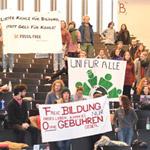 Studiengebühren Protest Freiburg
