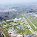 Visualisierung Luftbild Stadion