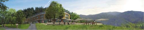 Siegerentwurf: So soll das neue Hotel aussehen. Geplant sind 80 Zimmer und 10 Suiten.