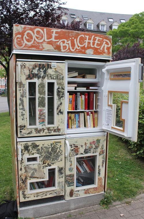 Vier Kühlschränke – der fantasievollste Tauschort in Freiburg