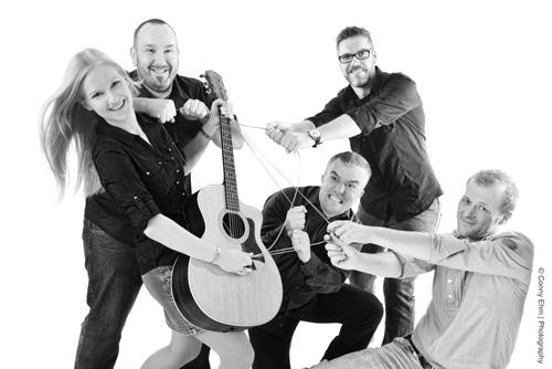 Akustik-Quintett Saitensprünge. Bild: Conny Ehm