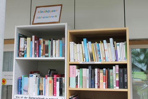 """Der """"Kleehäuser Bücherschrank"""" im Vauban"""