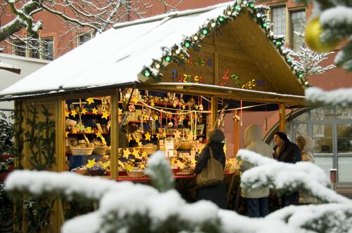 Weihnachtsmarkt in Freiburg