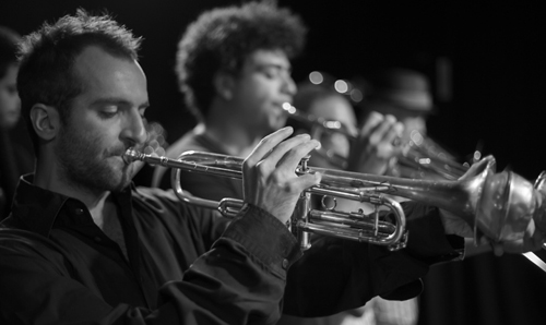 Jonas Winterhalters Big Band. Bild: Jonas Groteloh