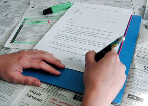 Tipps Für Die Schriftliche Bewerbung Chillifreiburgstadtmagazin