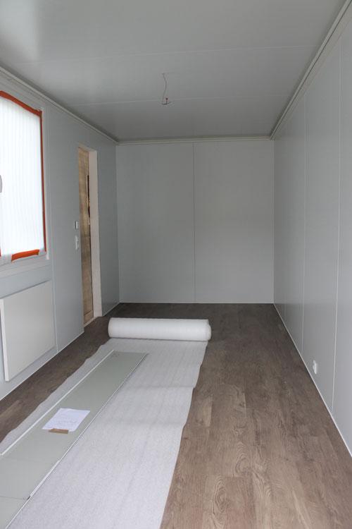 Edler Fußboden: Bei der Ausstattung der Wohnungen wurde auf hochwertige Materialien gesetzt. Könnte gemütlich werden, oder?