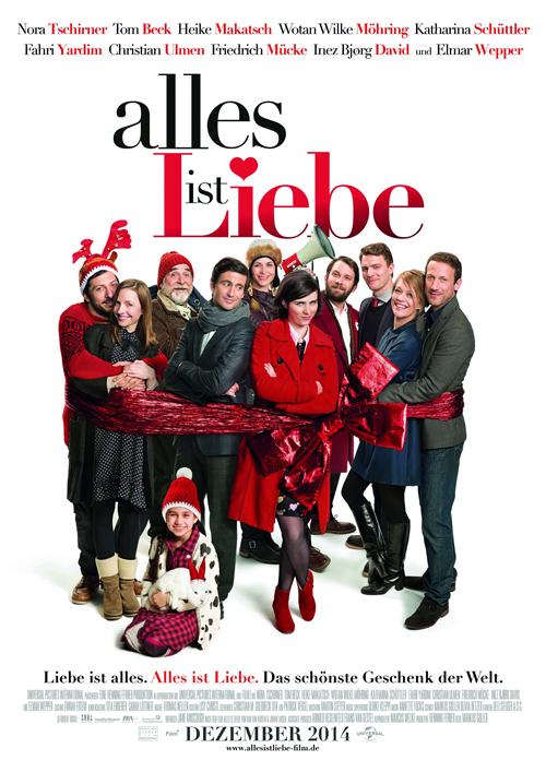 """Im der romantischen Weihnachtskomödie """"Alles ist Liebe"""" treibt ein Allstar-Ensemble des deutschen Films durch die Großstadt auf der Suche nach dem wärmsten der Gefühle."""