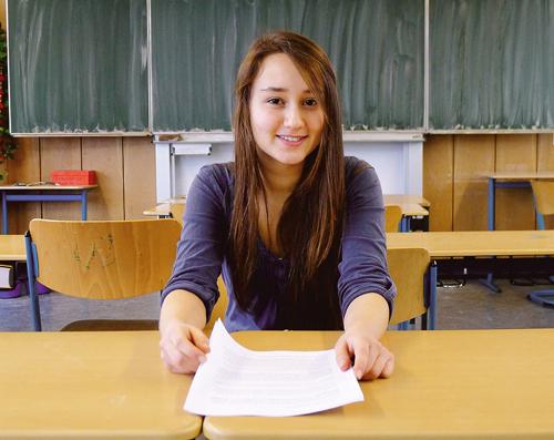 Die Schülerin Yakamoz Karakurt sorgte mit ihrer Kritik am G8-System für Diskussionen.