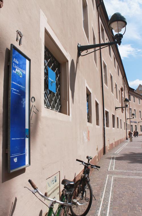 Bertold- statt Werthmannstraße: Hier soll das Literaturhaus Ende 2015 einziehen.