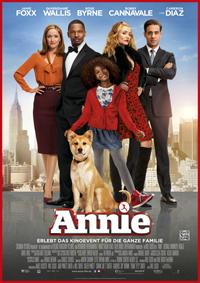 """Hochkarätige Besetzung, schmissige Songs und jede Menge Kitsch: Das Filmmusical """"Annie"""" wurde konsequent auf Unterhaltung gebürstet."""