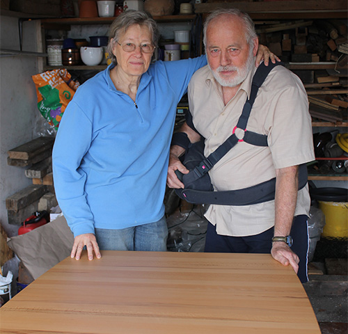 Helga-Solveig und Heinz-Peter Kern.
