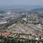 Viel Raum für Entwicklung: Auf dem Güterbahnhof ist ein neuerlicher Widerstreit zwischen Wohnen und Gewerbe entfacht.