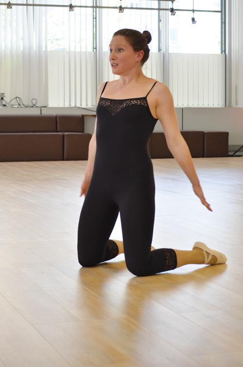 Ballerina Meret Schweinfurth kämpft um WM-Medaille