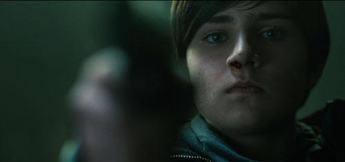 """Ein eiskalter Engel, der Rache will: Markus Krojer als knapp 14-jähriger Leon in """"Bastard"""", dem Debütfilm von Carsten Unger."""
