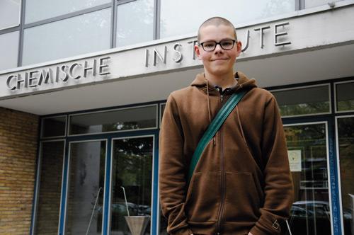 """""""Ich wäre lieber ein wenig dümmer."""" Für den 14-jährigen Bastian Eichenberger ist seine Begabung Segen und Fluch."""