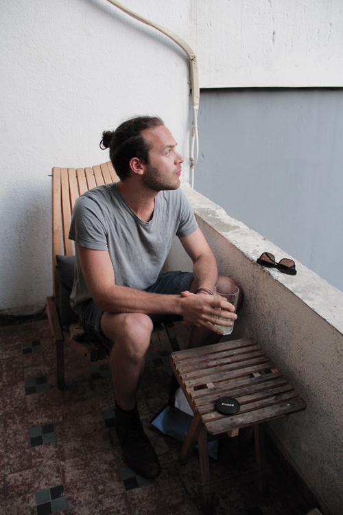 Der Klangtüftler Julian Maier-Hauff ist für einen Auftritt in den Libanon eingeladen worden – und hat sich dort prompt verliebt.