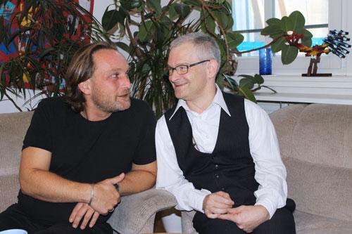 Bertram Goldbach und Siegfried Wagmann verstehen sich als Schattenspringer – und nicht als Menschen mit oder ohne Behinderung.