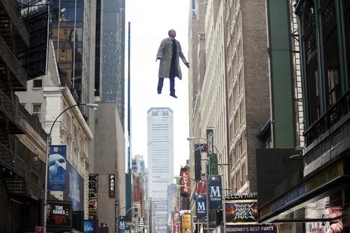 Wahnvorstellung oder Wirklichkeit? Riggan Thomson (Michael Keaton) schwebt über dem Broadway.