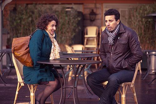 Szene mit Noémie Lvovsky und Samir Guesmi.