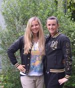 Cheerleading-Pionierinnen: Miriam von Scheibner & Vera Sutter geben ihre Erfahrungen weiter.