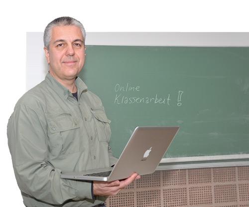 Online-Prüfer: Ioannis E. Konstas setzt auf digitale Klassenarbeiten. Das spart jede Menge lästige Korrekturen.