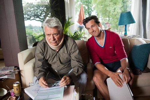 Nur Geduld: Conrad (Florian David Fitz) muss sich im seinen Vater Carl (Henry Hübchen, links). Und der ist kein einfacher Patient.