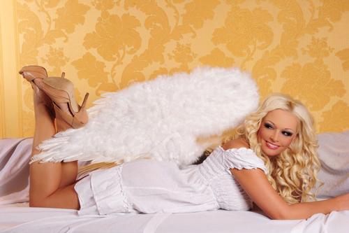 Daniela Katzenberger kann auch Engel - ganz bestimmt!