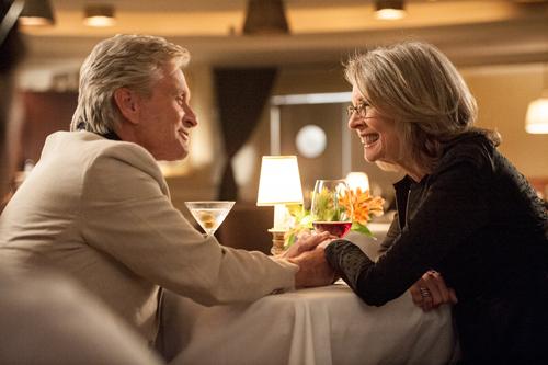 Nicht immer geht es zwischen den Nachbarn Oren (Michael Douglas) und Leah (Diane Keaton) so harmonisch zu.