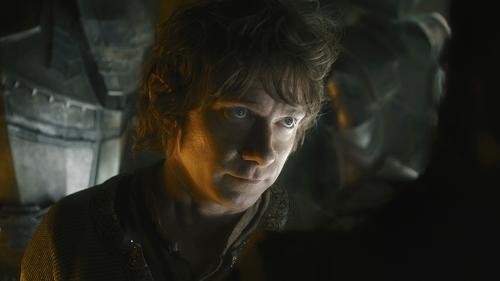 Bilbo Beutlin (Martin Freeman) verheimlicht seinen Zwergen ein Geheimnis.