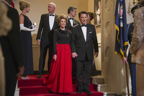 Nancy und Ronald Reagan (Jane Fonda und Alan Rickman) waren das letzte Präsidentenpaar, das Cecil Gaines bediente.