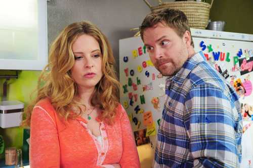 Christine (Diana Amft) und Stefan (Janek Rieke) - ihr gemeinsamer Sohn kommt in die Schule, das Leben geht weiter. Nur die beiden als Paar gibt es nicht mehr.
