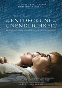 """Das Biopic """"Die Entdeckung der Unendlichkeit"""" erzählt die Geschichte Stephen Hawkings vor allem anhand der Romanze mit seiner Ex-Frau Jane, auf deren Memoiren das Drama basiert."""