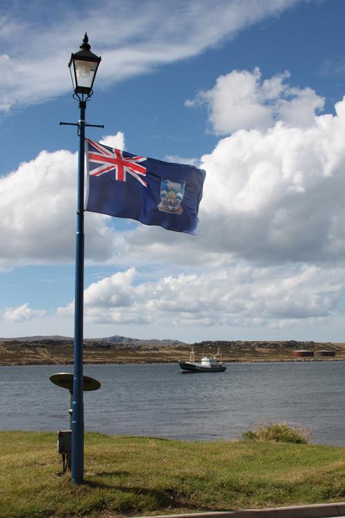 Flagge der Falklands