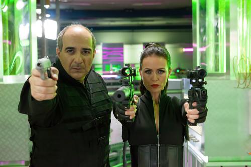Die echte Mamba (Michael Niavarani) und Kollegin Sherazade (Melika Foroutan) sind ein starkes Team.