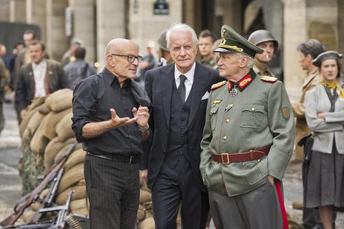 Volker Schlöndorff (links) wählte André Dussollier und Niels Arestrup (rechts) als Hauptdarsteller für sein Drama.