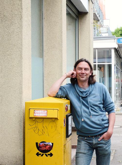 Neuer Teamleiter im Fanprojekt: Der Sozialpädagoge Dirk Grießbaum.