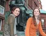 Zwei Frauen, ein Ziel: Sarah Eilers (links) und Juith Praßer.