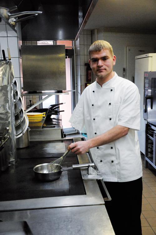 Jonas Benz hat sein Traumberuf verwirklicht, trotz Handicap.