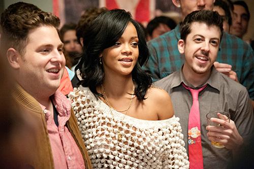 Szene mit Rihanna.