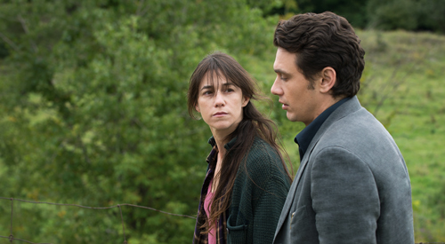 Tomas (James Franco) stellt sich dem Gespräch mit Kate (Charlotte Gainsburgh), der Mutter des verunglückten Kindes.