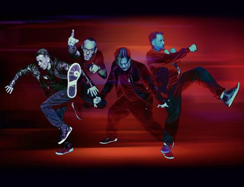 """""""Rekord""""-Halter: Seit 25 Jahren sind Die Fantastischen Vier bereits ohne Unterbrechung im Geschäft - so lange wie keine andere HipHop-Band."""