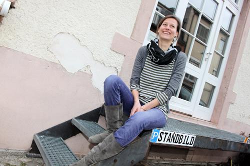 Anna Martensen ist noch ganz jung in der Branche ...
