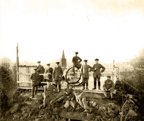 Flakscheinwerfer auf dem Schlossberg (Archivnummer  M 736 10450)