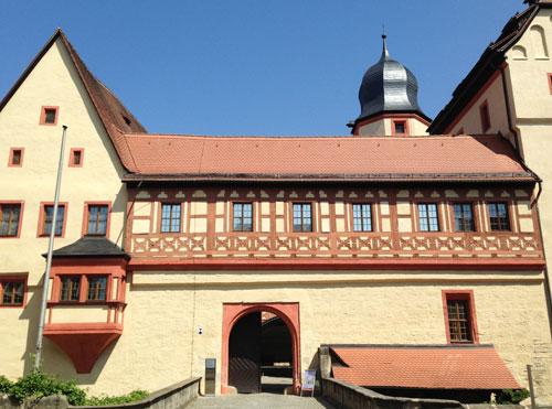 Die Burg Forchheim aus dem 14. Jahrhundert