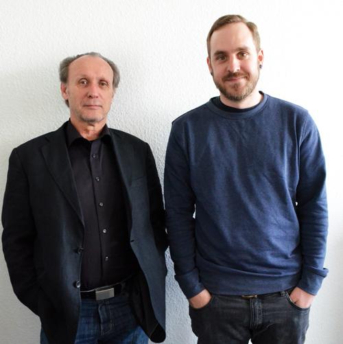 Musikbotschafter: Stefan Sinn und Matthias Gänswein sind die Chefs des Festivals.