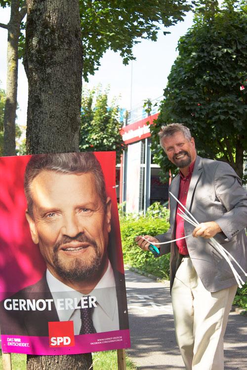 Bundestagswahl-Kandidat Gernot Erler