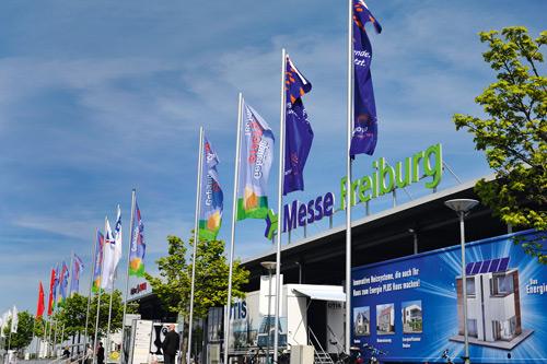Messeplatz Freiburg: Die GETEC hofft wieder auf mehr Besucher.