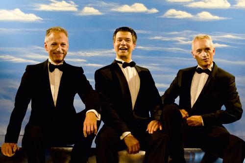 Gigolo präsentieren eine 20er Jahre Song Revue. Bild: Boris Höpf